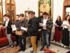 Studenții Școlii de pe Sion cântă colinde