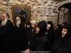 Maicile Mănăstirii în timpul Sfintei Liturghii