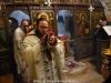 Arhimandritul Ieronim în timpul Sfintei Liturghii