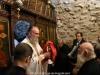 Arhimandritul Ignatie în timpul Sfintei Liturghii în cinstea Sfintei Melania