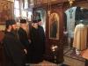 Soborul Patriarhal venind să se închine la Mănăstirea Sfântului Vasile