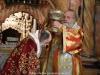 ÎPS Mitropolit de Kapitolias în timpul Sfintei Liturghii