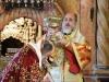 ÎPS Mitropolit de Helenoupolis în timpul Sfintei Liturghii
