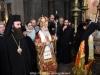 Preafericirea Sa și arhiereii în timpul procesiunii