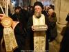 Părintele Kamarasis în timpul procesiunii