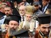 Preafericirea Sa în timpul procesiunii