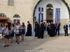 Soborul arhieresc plecând de la Mitropolie și îndreptându-se spre Sfântul Sălaș