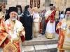 Rugăciune în curtea Bisericii Sfântului Mormânt