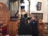 Preafericirea Sa participă la Utrenie și la Sfânta Liturghie