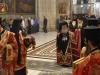 Intrarea Preafericirii Sale în catoliconul Bisericii Sfântului Mormânt