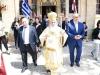Preafericirea Sa și credincioșii la procesiune
