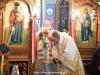 ÎPS Mitropolit Chiriac al Nazaretului în timpul Sfintei Liturghii
