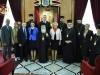 Fotografie comemorativă de la vizita Prim Ministrului României