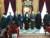 Ministrul Educației din Iordania, d-l Shekem și Preafericirea Sa
