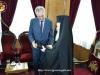Preafericirea Sa oferă Ministrului un volum cu istoria Ierusalimului