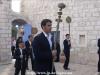 Procesiunea ajunge la Mănăstirea Mica Galilee