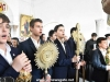 Elevii Școlii Patriarhale la Mănăstirea Mica Galilee