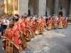 Intrarea preoților la Vecernia Duhului Sfânt
