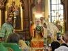 ÎPS Arhiepiscop al Constantinei, împreună-liturghisitor, la Vohodul Mare