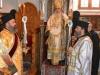 Preafericirea Sa în tron împreună cu Arhidiaconul Marcu și Diaconul Anastasie