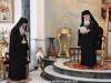 Preafericirea Sa Se adresează Arhiepiscopului-Ales al Madabei în Sala de Recepție