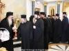 Felicitări Arhiepiscopului-Ales al Madabei Aristovul al Madabei în Sala de Recepție