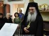 Părintele Dragoman, Arhimandritul Matei, membru al Sfântului Sinod, citește Mesajul scurt